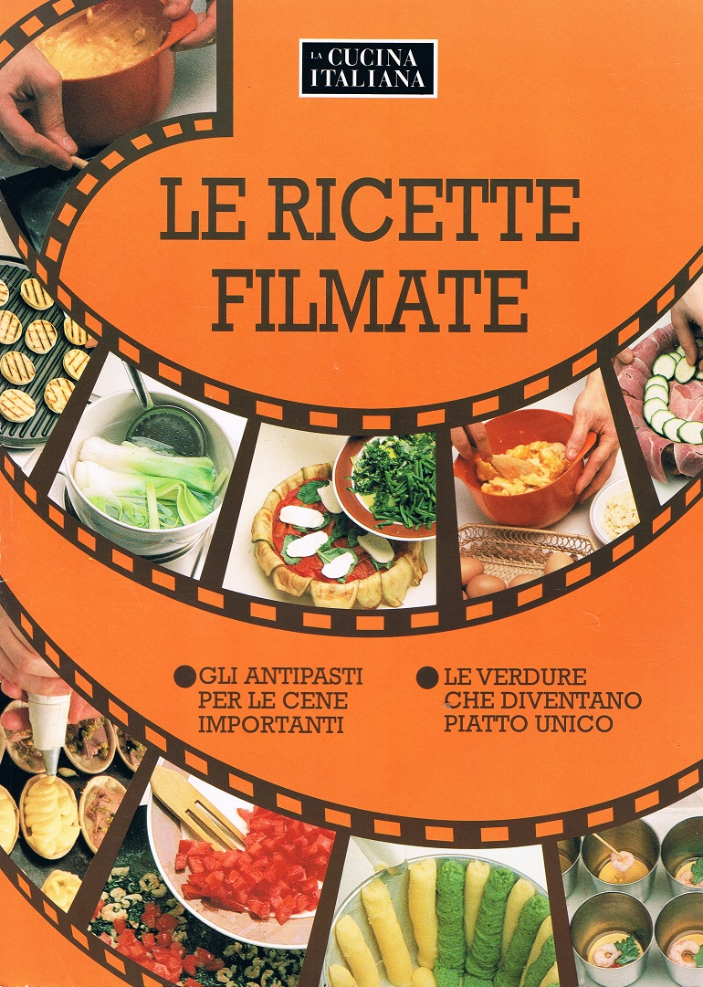 La Cucina Italiana Ottobre 1992 Le Ricette Filmate Il Tomo